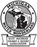 Michigan Water Wonderland stock photography