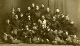 Michigan Wolverines in 1899 Stock Photo