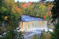 Michigans Tahquamenon Falls Royalty Free Stock Photos
