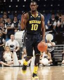 Michigans Tim Hardaway Jr. Lizenzfreies Stockfoto