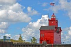 Michigansee-Hafen Stockfotos