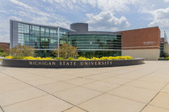 Michiganuniversitetsområde arkivfoto