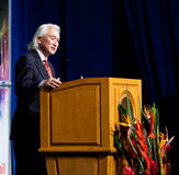Michio Kaku Foto de Stock Royalty Free