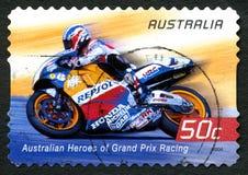 Mick Doohan Australian Postage Stamp imagem de stock