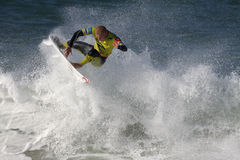 Mick Fanning. World surfing circuit in Portugal Stock Photo