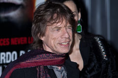 Mick Jagger. NEW YORK - FEBRUARY 17:  Mick Jagger attend the 'Shutter Island' premiere at the Ziegfeld Theatre on February 17, 2010 in New York City Royalty Free Stock Photography