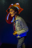 Mick Jagger  wax figure Stock Photography