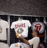 MICK JAGGER Y THE ROLLING STONES fotos de archivo libres de regalías