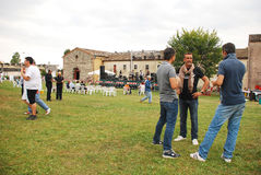 Khan Benefit Concert, Villa Benzi Zecchini Stock Photos