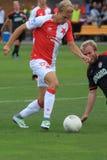 Mick van Buren - Slavia Prague Arkivfoto