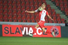 Mick Van Buren - Slavia Prague Stock Image