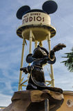 Mickey雕象 库存图片