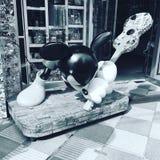 Mickey är punkrocket Royaltyfri Foto