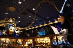 Mickey die Donald, Filharmonische Philharmagic van Mickey leiden Royalty-vrije Stock Foto