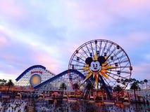 Mickey Ferris Wheel Fotos de Stock Royalty Free