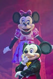 Mickey i Minnie Mysz Obraz Royalty Free