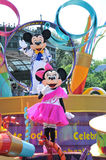 Mickey and Minnie Mouse. At Magic Kingdom. Orlando Florida Royalty Free Stock Image