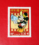 Mickey Mouse. Postage Stamp of Mickey Mouse cartoon Royalty Free Stock Photos