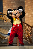 Mickey Mouse. Dancing on stage at Disney World in  Orlando Florida Royalty Free Stock Photography