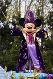 Mickey Mouse bei Disneyland Paris auf Parade Lizenzfreies Stockfoto