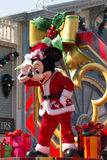 MICKEY MOUSE célèbrent l'an neuf de Noël Photos stock
