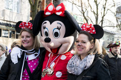 Mickey Mouse on Carnival in Duesseldorf royalty free stock image