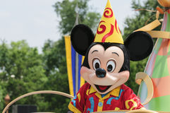 Mickey mouse. Close-up portrait during the parade Stock Photography