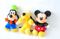 Mickey Mouse Collection. Image of Goofy, Pluto and Mickey Mouse plush toys - Mickey Mouse Collection Stock Photography