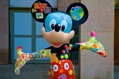 Mickey Mouse coloré Photographie stock libre de droits