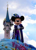 Mickey Mouse. In the disney parade royalty free stock photo