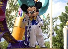 Mickey Mouse at Disney World Orlando Florida. A smiling Mickey Mouse at Disney World in Orlando Florida stock photos