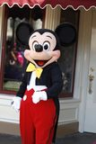 Mickey Mouse at Disneyland stock photos