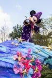 Mickey Mouse a Disneyland Parigi sulla parata Fotografia Stock Libera da Diritti