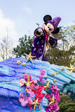 Mickey Mouse in Disneyland Parijs op parade Royalty-vrije Stock Foto
