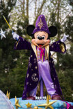 Mickey Mouse at Disneyland Paris on parade Royalty Free Stock Photo
