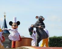 Mickey Mouse ed e ratto leggiadramente Fotografie Stock Libere da Diritti