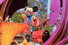 Mickey Mouse en el desfile de Disney Fotografía de archivo