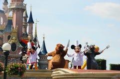 Mickey Mouse en sprookjevrienden Stock Foto