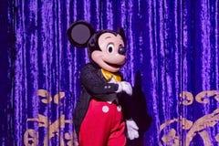 Mickey Mouse en Tux imágenes de archivo libres de regalías