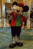 Mickey Mouse en un equipo báltico Imagen de archivo