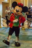 Mickey Mouse en un equipo báltico Imagen de archivo libre de regalías