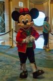 Mickey Mouse en un equipo báltico Fotos de archivo libres de regalías