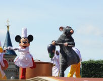 Mickey Mouse and  and fairy rat Royalty Free Stock Photos