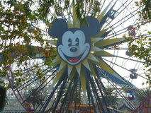 Mickey Mouse Ferris Wheel. At Disneyland in  Anaheim, California Royalty Free Stock Photography