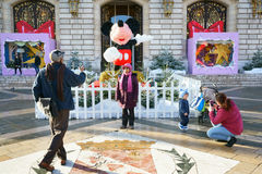 Mickey Mouse in France Royalty Free Stock Photo
