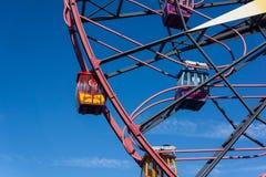 Mickey Mouse Fun Wheel Gondola rittCloseup royaltyfri foto