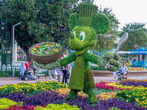 Mickey Mouse garden statue Stock Image