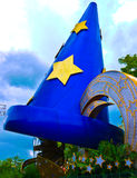Mickey Mouse Hat. Mickey Mouse's sorcerer hat at MGM Hollywood Studios in Walt Disney World Royalty Free Stock Images