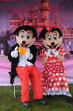 Mickey Mouse and Minie Mouse Stock Photos