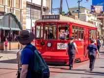 Mickey Mouse på Hollywood studior i det Disney Kalifornien affärsföretaget parkerar Arkivfoton